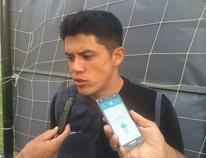 Echeverria - meia do ABC (Foto: Carlos Cruz/GloboEsporte.com)