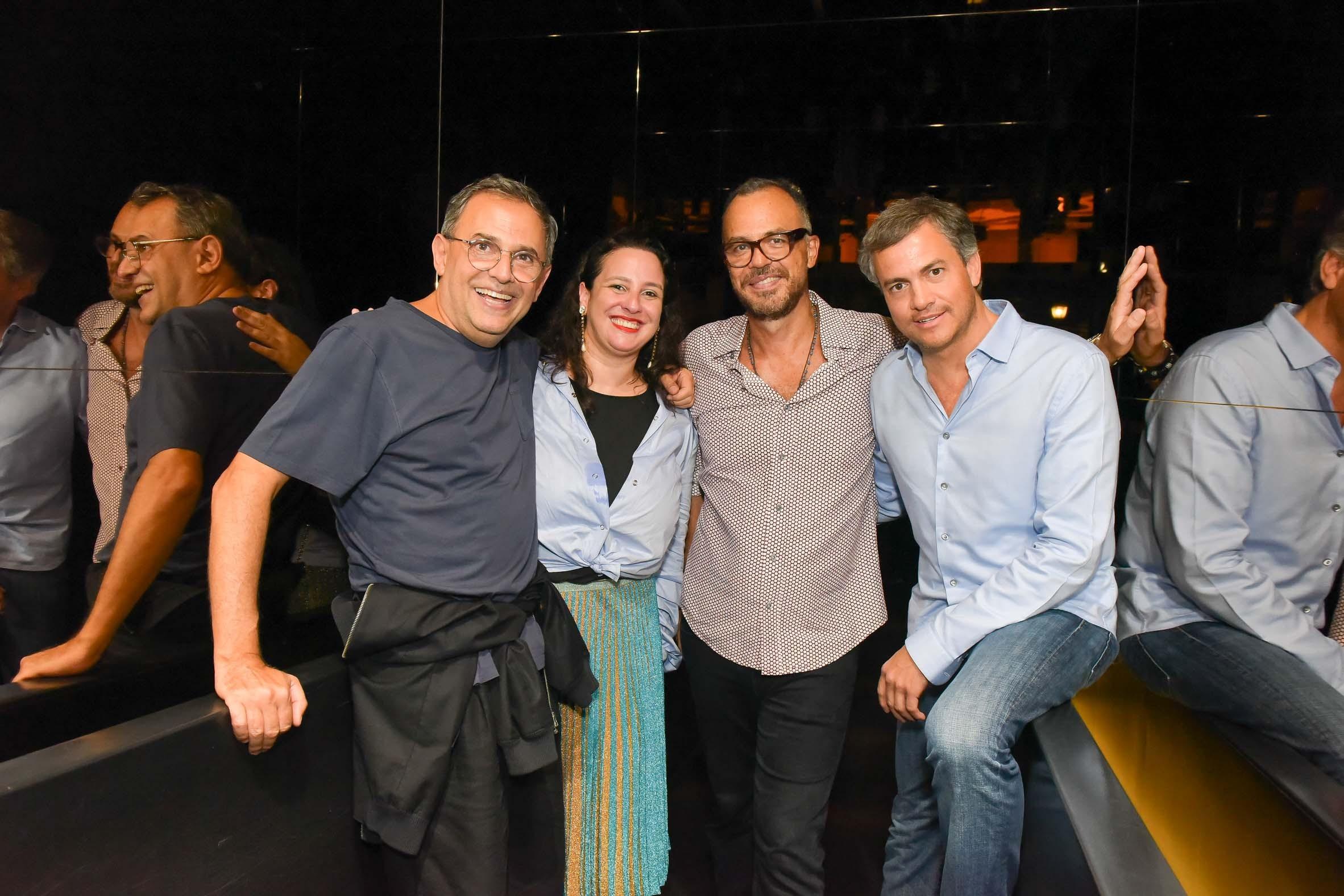 Paulo Borges, Silvia Rogar, Marcos Campos e Christian Branco (Foto: Divulgação)