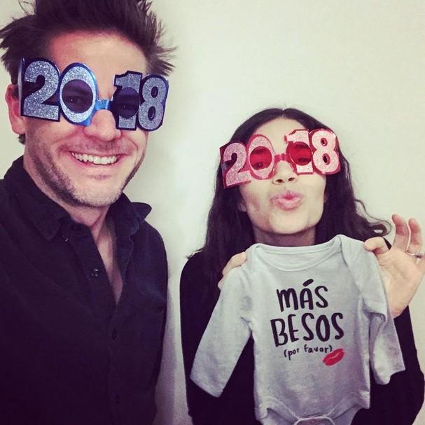 America Ferrera e o marido, Ryan Piers Williams (Foto: Instagram/Reprodução)