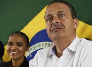 Marina Silva e Eduardo Campos (Foto: José Cruz / ABr)
