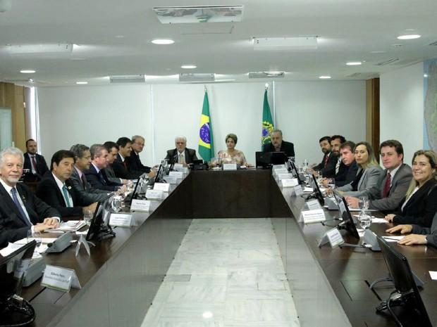 Fortunati se reuniu com a presidente Dilma Rousseff em Brasília (Foto: Paulo Negreiros/FNP/Divulgação PMPA)