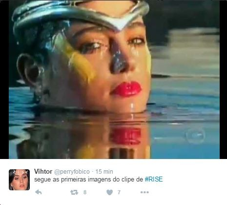 Novo single de Katy Perry gera memes no Twitter (Foto: Reprodução / Twitter)