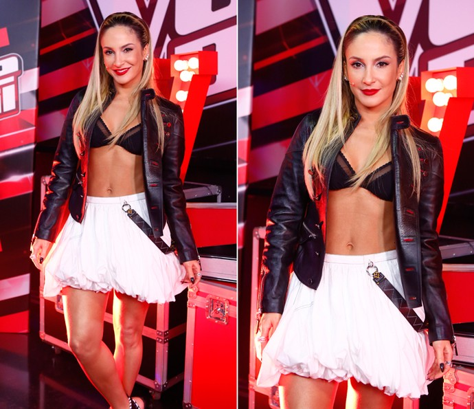 Claudia Leitte ousa no visual para a Final do 'The Voice Brasil' (Foto: Artur Meninea/Gshow)