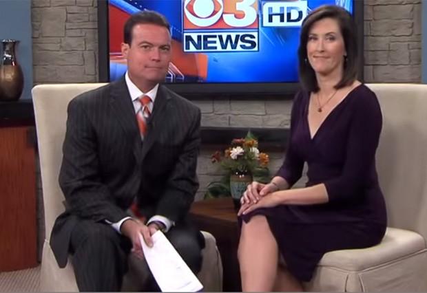 Dave Bento, ao lado da companheira de bancada Jennifer Roscoe, revelou durante o programa que tem de 4 a 6 meses de vida devido a um câncer no cérebro (Foto: Reprodução/YouTube/FLYGHETTO)