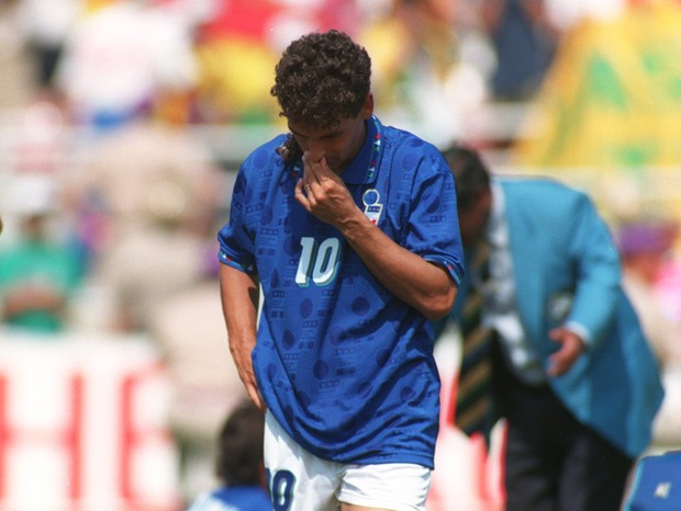 Roberto Baggio 1994 (Foto: Getty Images)