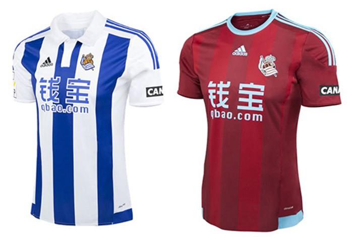 Camisas espanhol Real Sociedad