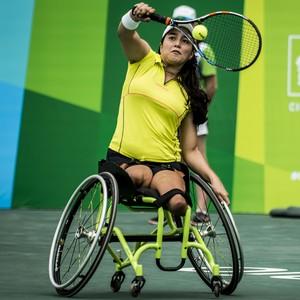 tênis paralímpico Natália Mayara  (Foto: Daniel Zappe/CPB/MPIX)