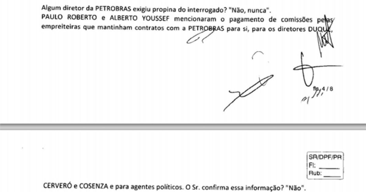 PF diz que delatores revelaram propina a atual diretor da Petrobras - Globo.com