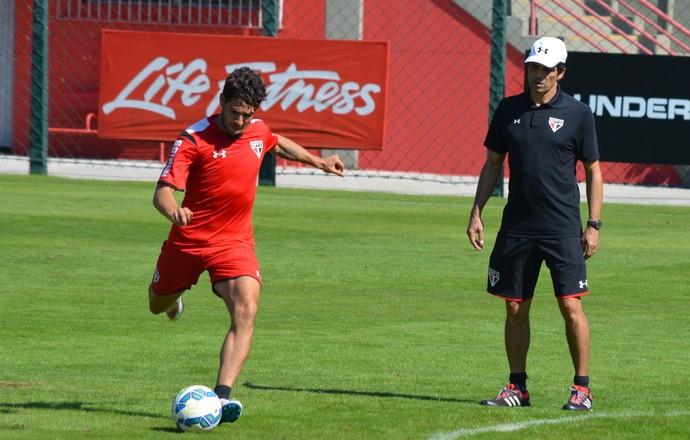 Alexandre Pato, Milton Cruz, São Paulo (Foto: Site Oficial / saopaulofc.net)
