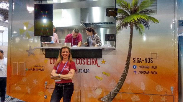 Gislene Gonçalves, sócia-fundadora da Fag Brasil, empresa que customiza automóveis (Foto: Rennan A. Julio / Editora Globo)