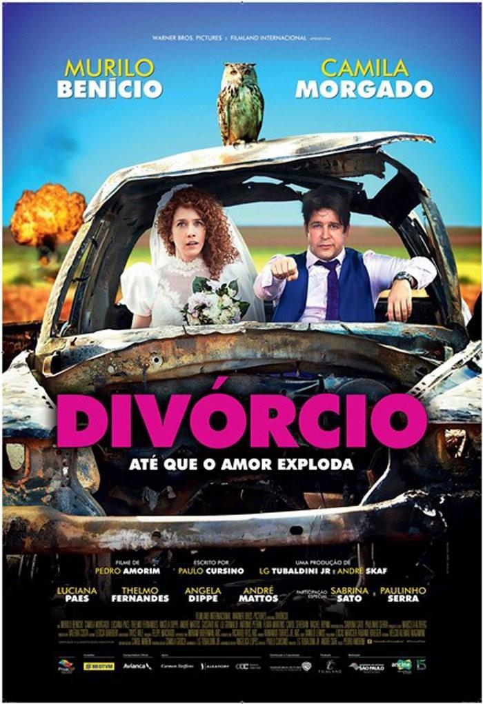 Cartaz do filme Divórcio (Foto: Divulgação)