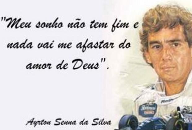 Neymar publicou imagem em homenagem a Ayrton Senna (Foto: Reprodução/Instagram)