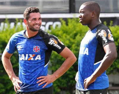 Gilberto treino Vasco (Foto: Marcelo Sadio / Vasco.com.br)