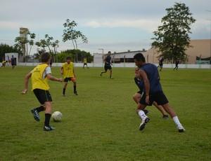 Jogo de abertura da copa será no Centro de Treinamento da AJS/Unimed, no clube Vera Cruz  (Foto: Samira Lima)