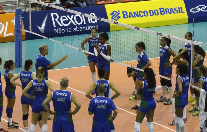 Rio de Janeiro treino Arena da Barra vôlei (Foto: Alexandre Arruda/CBV)