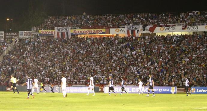 Estádio Santa Cruz Botafogo-SP x ABC (Foto: Rogério Moroti / Agência Botafogo)