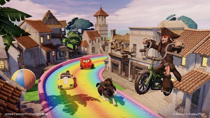 Disney Infinity traz vários universos de animações da Disney e Pixar (Foto: Divulgação)