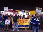 Manifestantes fazem ato no Masp contra governo Dilma