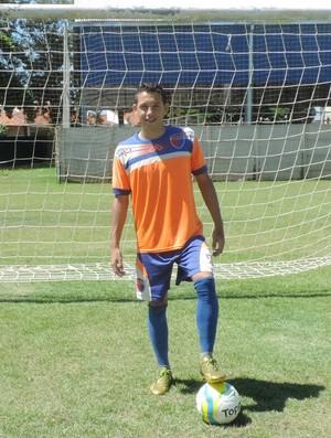 Luiz Henrique é mais jovem do elenco (Foto: Kawanny Barros / GloboEsporte.com)