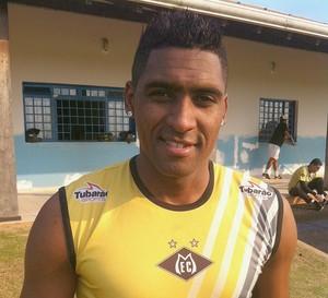 Jonatas Obina atacante do Mixto (Foto: Lucas de Senna/TVCA)