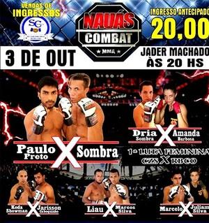 3º Nauas Combat MMA, em Cruzeiro do Sul (Foto: Marcio Moraes/ divulgação)