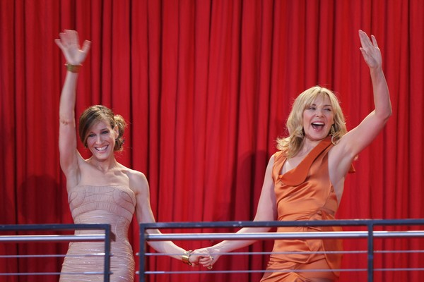 Sarah Jessica Parker e Kim Cattrall (Foto: Getty Images)