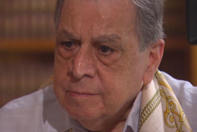 Ex-integrante do STF e ex-presidente da Câmara Célio Borja em entrevista ao Dossiê GloboNews
