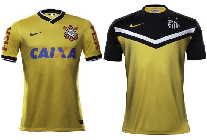 Clubes brasileiros ganham camisas amarelas no ano da Copa. Veja ... 35ef883c6b550