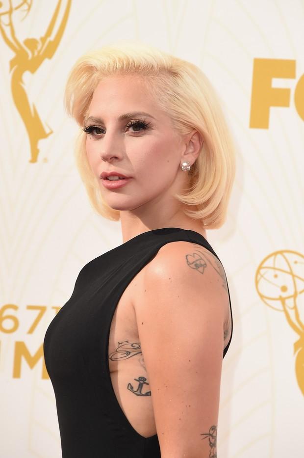 EMMY 2015 - Lady Gaga (Foto: Getty Images)