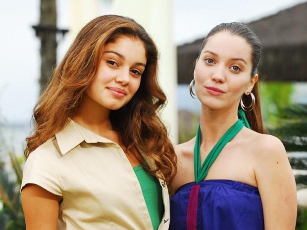 Sophie Charlotte e Nathalia Dill (Foto: João Miguel Júnior /  TV Globo)