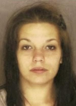 Courtney McPhillips escondeu drogas na vagina (Foto: Scranton Police Department/Divulgação)