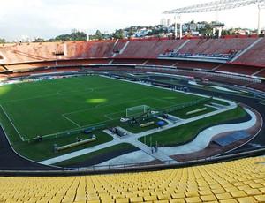 Estádio morumbi (Foto: Marcos Ribolli / Globoesporte.com)