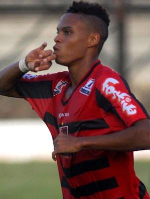 Pablo Oeste gol catanduva (Foto: Reprodução / Site Oficial Oeste FC)