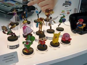 Bonecos da linha 'Amiibo' são oportunidade de recuperação financeira da Nintendo (Foto: Bruno Araujo/G1)