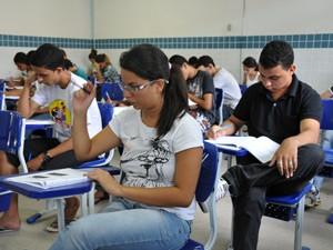 As provas começaram pontualmente às 8h  (Foto: Divulgação/Ascom IFPB)
