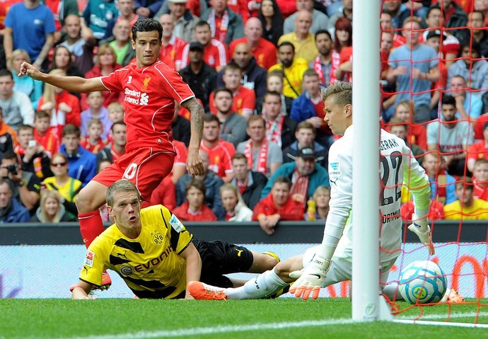 Philippe Coutinho gol Liverpool (Foto: Facebook do Liverpool)