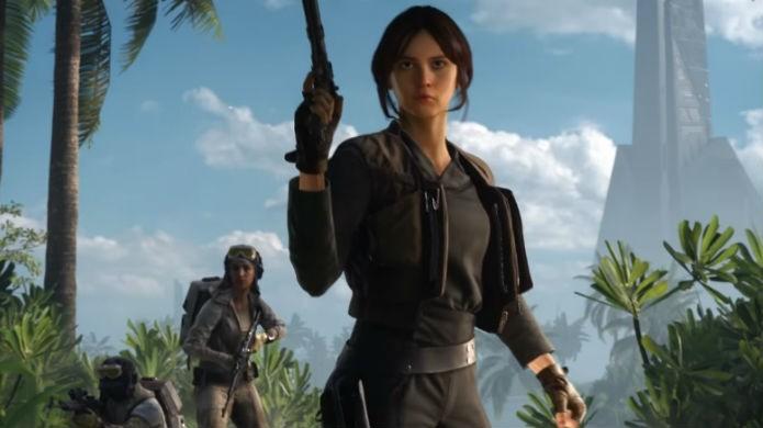 Star Wars Battlefront: Scarif acrescenta Jyn Erso ao elenco de heróis (Foto: Divulgação/EA)