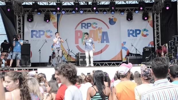 Vitor e Vanuti vão agitar mais uma edição do RPC na Praça, em Cascavel (Foto: Loan Rocha/RPC)