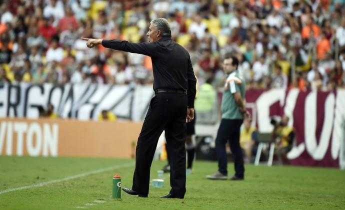 Tite Fluminense x Corinthians Maracanã (Foto: André Durão)