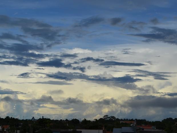 Com tempo nublado, pancadas de chuva podem cair em todo Cone Sul de Rondônia nesta sexta-feira, 24 (Foto: Dennis Weber/G1)