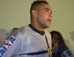 Goleiro Hélder, do Brasiliense (Foto: Jonatas Boni)