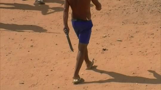 Vídeo mostra presos armados e pavilhões destruídos em Alcaçuz