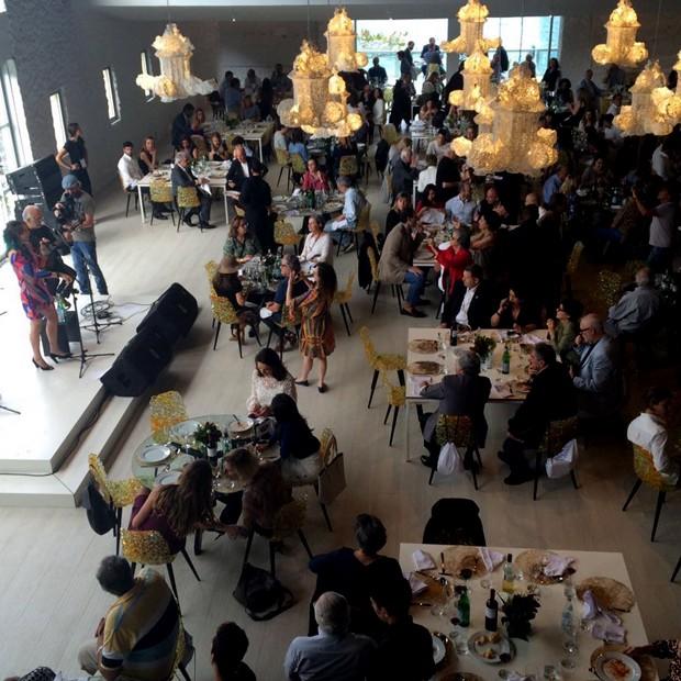 A Casa Itália, no Clube Costa Brava (Foto: Pedro Henrique França)