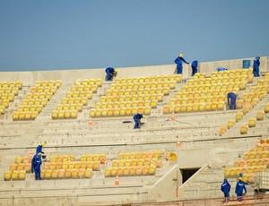 Arena da Amazônia cadeiras (Foto: Divulgação/Andrade Gutierrez)