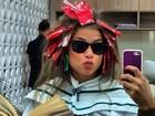 Angela Sousa, namorada do ex-BBB Yuri, posa no salão: 'Horrorosa'