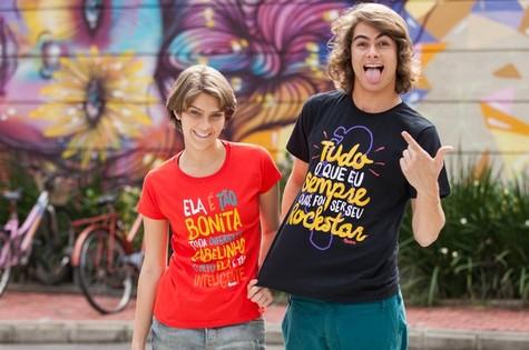 Isabella Santoni e Rafael Vitti (Foto: Fabiano Battaglin / Gshow)