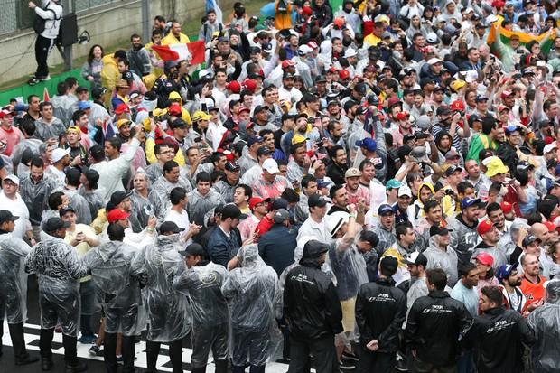 Torcida brasileira deu show no GP do Brasil (Foto: Divulgação)