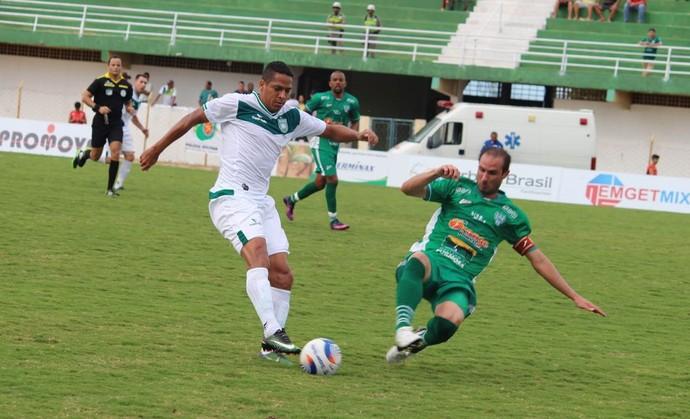 Formosa e Gama ficaram no 0 a 0 pela quarta rodada do Candangão (Foto: Douglas Oliveira / Gama)
