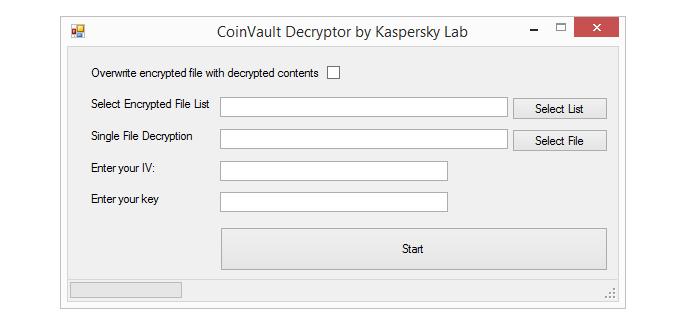 Ferramenta permite descriptografar arquivos sem pagar criminosos (Foto: Reprodução/Kaspersky)