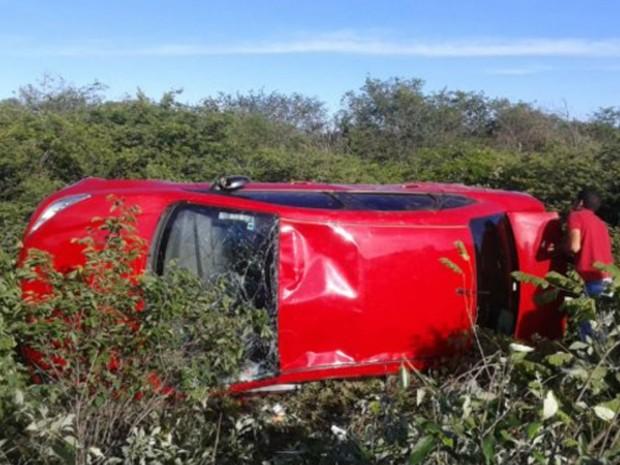 Acidente ocorreu na BR-242, em Ibotirama (Foto: Fernando ZDA / Site ZDA)
